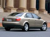 Audi A4 Sedan US-spec B6,8E (2000–2004) photos