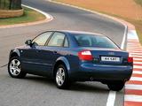 Audi A4 1.8T Sedan ZA-spec B6,8E (2000–2004) photos