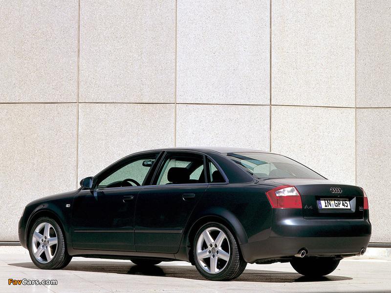 Audi A4 3.0 quattro Sedan B6,8E (2000–2004) photos (800 x 600)