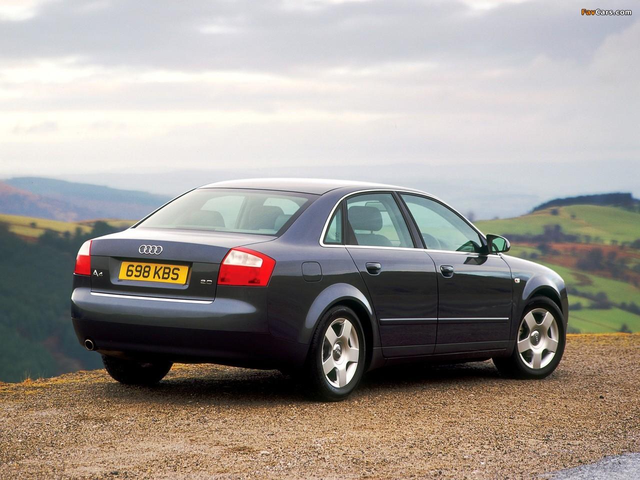 Audi A4 2 0 Fsi Sedan Uk Spec B6 8e 2000 2004 Pictures