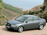Audi A4 3.0 quattro Sedan B6,8E (2000–2004) pictures