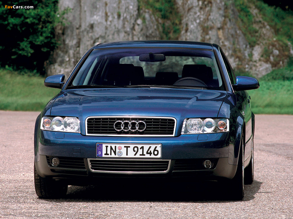 Audi A4 2 0 Fsi Sedan B6 8e 2000 2004 Wallpapers 1024x768