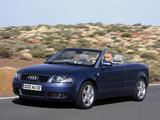 Audi A4 3.0 Cabrio B6,8H (2001–2005) images