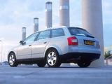 Audi A4 2.0 FSI Avant UK-spec B6,8E (2001–2004) photos