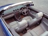 Audi A4 2.4 Cabrio UK-spec B6,8H (2001–2005) pictures