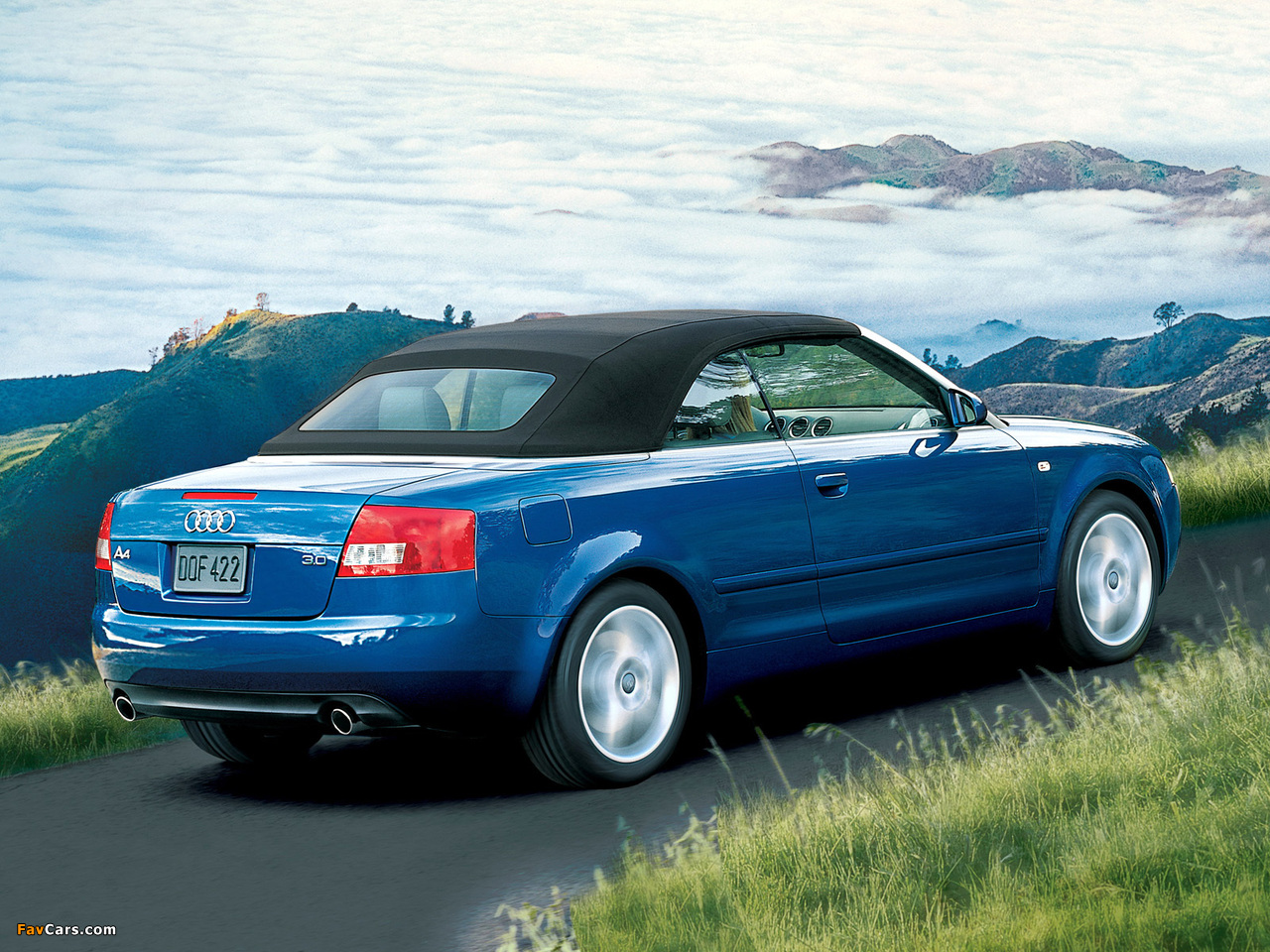 Audi A4 Cabrio Us Spec B6 8h 2001 2005 Wallpapers 1280x960