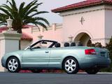 Audi A4 Cabrio US-spec B6,8H (2001–2005) wallpapers