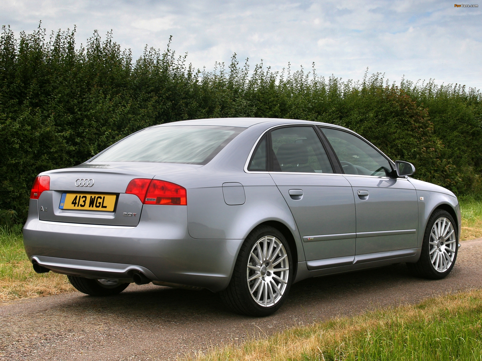 Audi A4 2 0t S Line Sedan Uk Spec B7 8e 2004 2007 Images 2048x1536