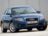 Audi A4 3.0 TDI quattro Sedan ZA-spec B7,8E (2004–2007) photos