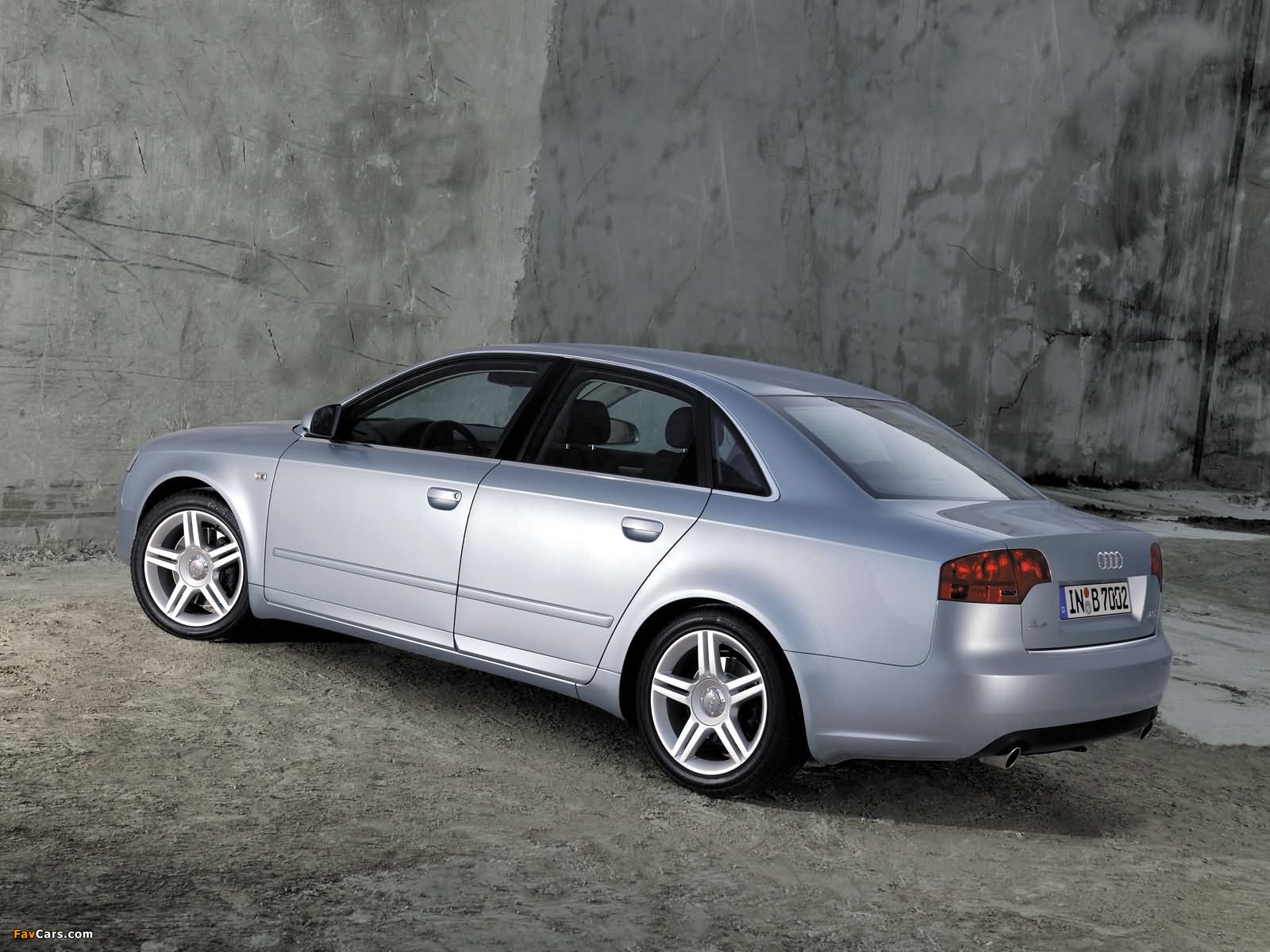 audi a4 2.0t sedan b7,8e (2004–2007) wallpapers (1600x1200)