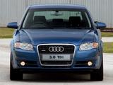Audi A4 3.0 TDI quattro Sedan ZA-spec B7,8E (2004–2007) wallpapers