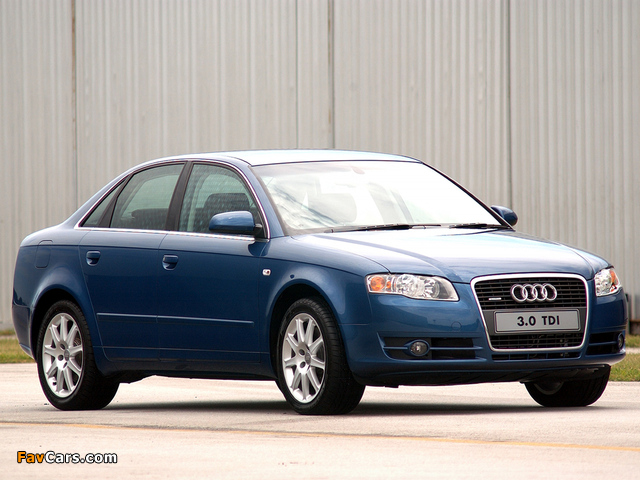 audi a4 3 0 tdi quattro sedan za spec b7 8e 2004 2007 wallpapers 640x480. Black Bedroom Furniture Sets. Home Design Ideas