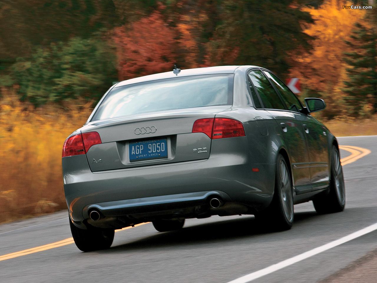 Audi A4 2 0t S Line Sedan Us Spec B7 8e 2004 2007