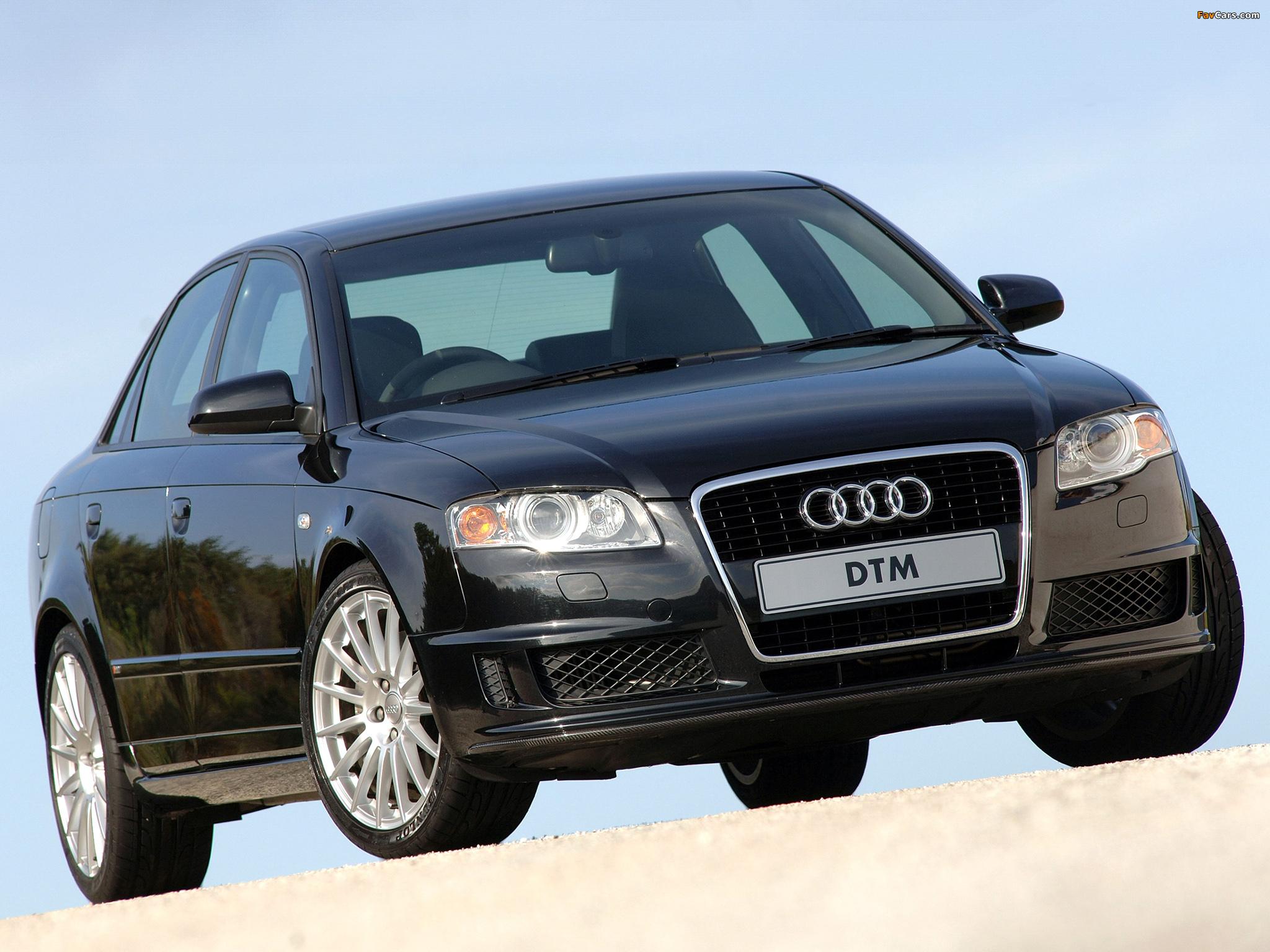 Audi A4 Dtm Edition Za Spec B7 8e 2005 2007 Images