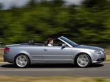 Audi A4 2.0T S-Line Cabrio UK-spec B7,8H (2005) images