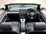 Audi A4 2.0T S-Line Cabrio UK-spec B7,8H (2005) photos