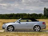 Audi A4 2.0T S-Line Cabrio UK-spec B7,8H (2005) pictures