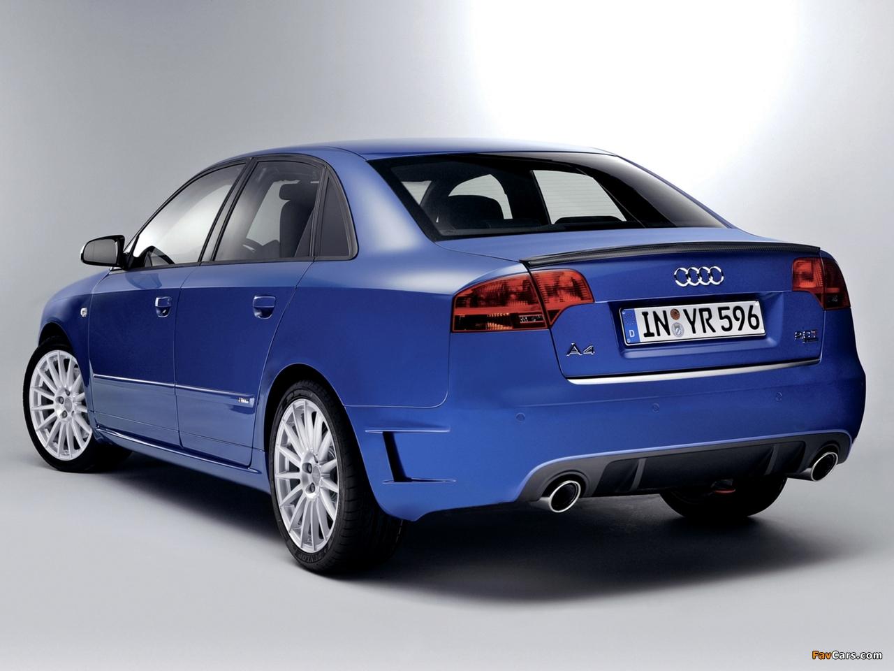 Audi A4 DTM Edition B7,8E (2005–2007) pictures (1280x960)