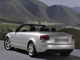 Audi A4 2.0T Cabrio B7,8H (2005) wallpapers