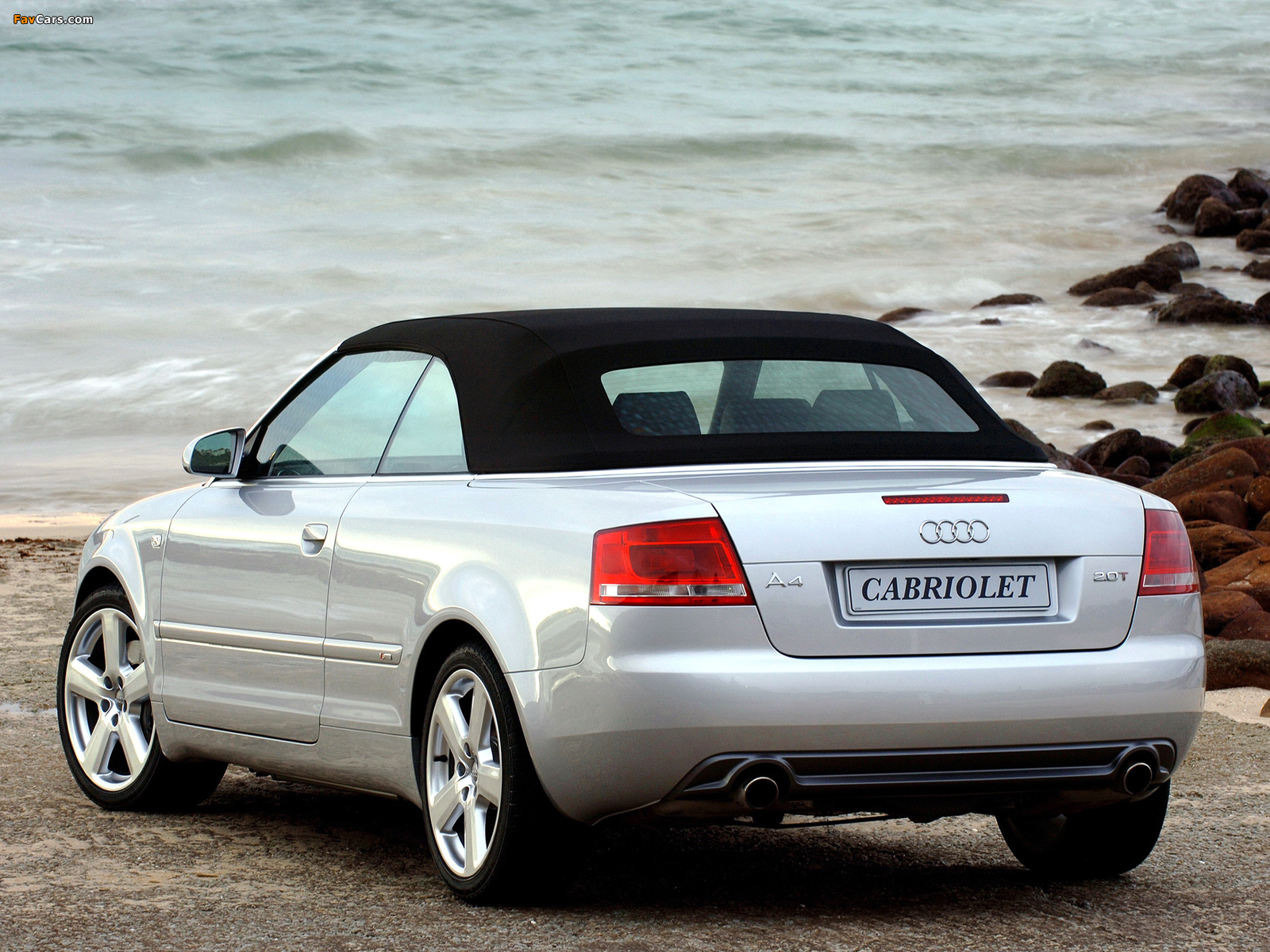 Audi A4 2 0t S Line Cabrio Za Spec B7 8h 2005 Wallpapers