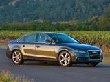 Audi A4 3.2 FSI quattro Sedan US-spec B8,8K (2007–2011) images