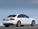 Audi A4 3.2 FSI quattro S-Line Sedan B8,8K (2007–2011) wallpapers