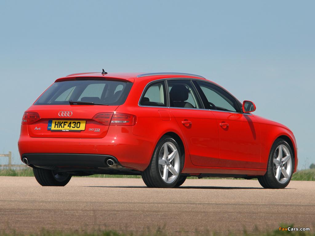 Audi A4 3 0 Tdi Quattro Avant Uk Spec B8 8k 2008 2011
