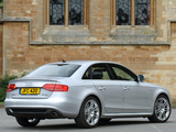 Audi A4 3.0 TDI S-Line Sedan UK-spec B8,8K (2009–2011) wallpapers