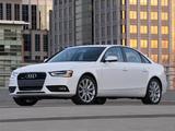 Audi A4 2.0T quattro Sedan US-spec (B8,8K) 2012 images
