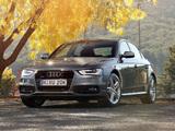 Audi A4 3.0T quattro S-Line Sedan AU-spec (B8,8K) 2012 images