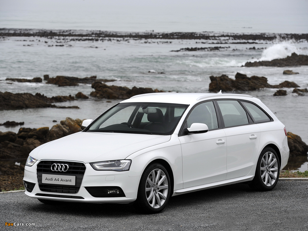 Audi A4 2 0 Tdi Avant Za Spec B8 8k 2012 Pictures 1024x768