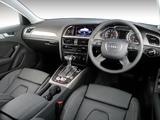 Audi A4 1.8T Sedan ZA-spec (B8,8K) 2012 wallpapers