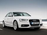 Audi A4 2.0T quattro S-Line Sedan UK-spec (B8,8K) 2012 wallpapers