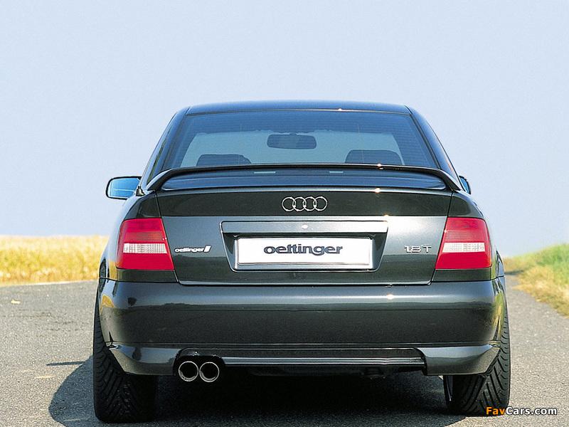 Oettinger Audi A4 Sedan (B5,8D) photos (800 x 600)