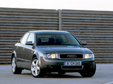 Images of Audi A4 3.0 Sedan B6,8E (2000–2004)