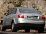 Images of Audi A4 2.5 TDI quattro Sedan ZA-spec B6,8E (2000–2004)