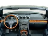 Images of Audi A4 3.0 Cabrio B6,8H (2001–2005)