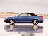 Images of Audi A4 2.4 Cabrio UK-spec B6,8H (2001–2005)