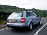 Images of Audi A4 2.0 FSI Avant UK-spec B6,8E (2001–2004)