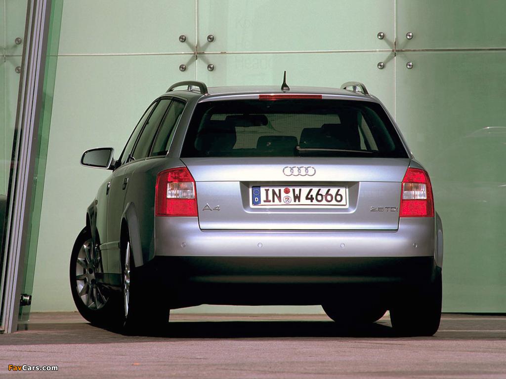 Images Of Audi A4 2 5 Tdi Avant B6 8e 2001 2004 1024x768