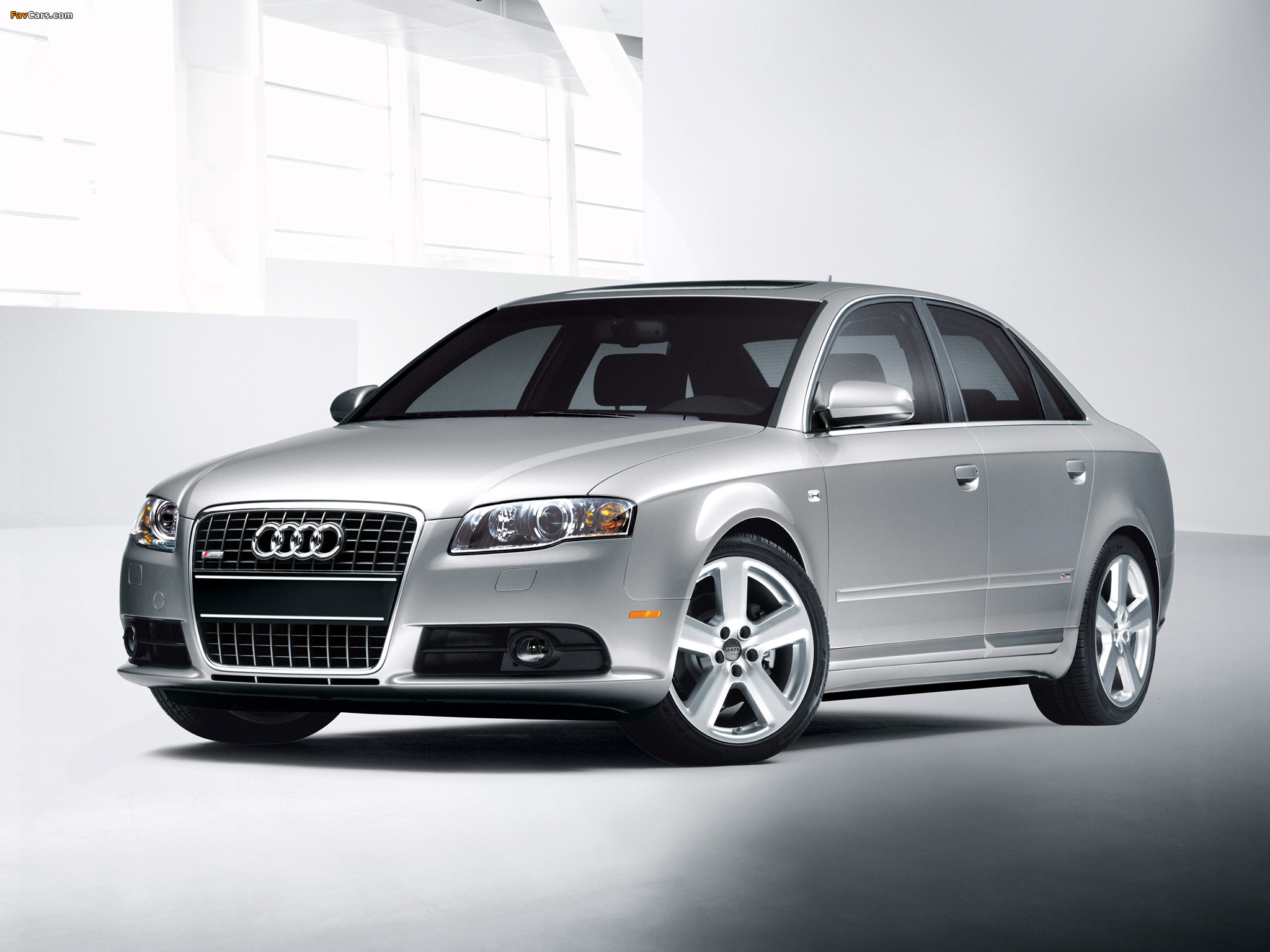 Images Of Audi A4 2 0t S Line Sedan Us Spec B7 8e 2004 2007 2048x1536