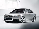 Images of Audi A4 2.0T S-Line Sedan US-spec B7,8E (2004–2007)