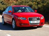 Images of Audi A4 2.0 TDI Sedan B7,8E (2004–2007)