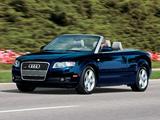 Images of Audi A4 3.2 quattro Cabrio US-spec B7,8H (2005)