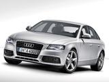Images of Audi A4 2.0 TDI Sedan B8,8K (2007–2011)