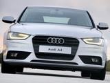 Images of Audi A4 1.8T Sedan ZA-spec (B8,8K) 2012
