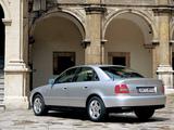 Photos of Audi A4 1.8 TDI Sedan B5,8D (1997–2000)