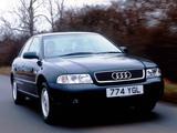 Photos of Audi A4 Sedan UK-spec B5,8D (1997–2000)