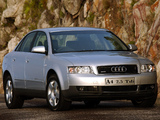 Photos of Audi A4 2.5 TDI quattro Sedan ZA-spec B6,8E (2000–2004)