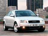 Photos of Audi A4 3.0 Sedan ZA-spec B6,8E (2000–2004)